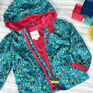 Cat and Jack wind/water resistant toddler girl jac